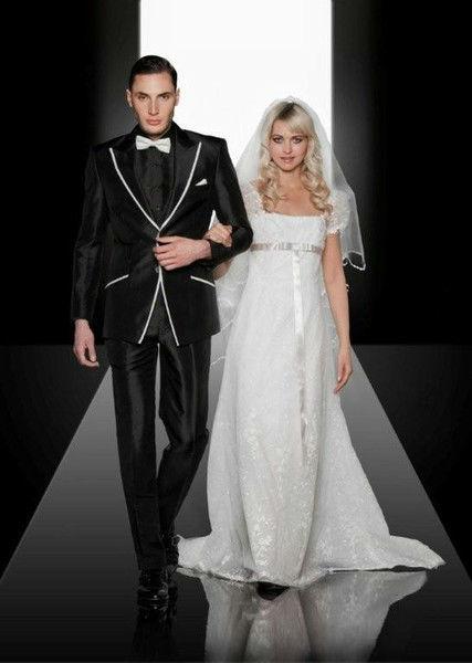 Beispiel: Anzüge für den Bräutigam, Foto: Gina's Sposa.