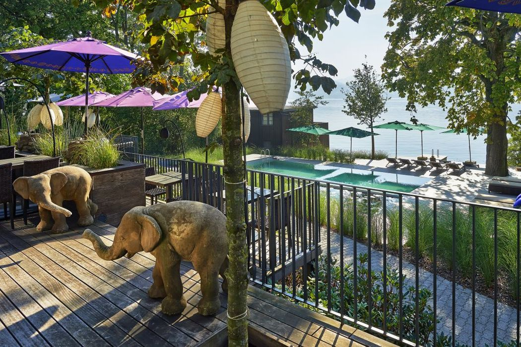 Beispiel: Garten / Terrasse, Foto: Seerose Resort & Spa.