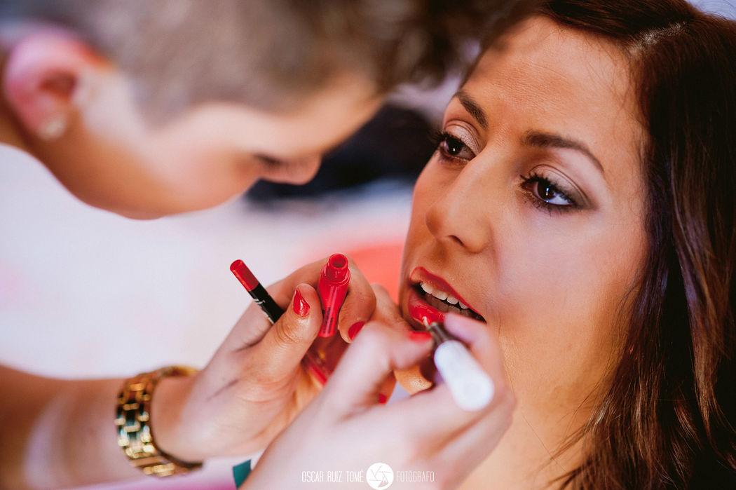 Oscar Ruiz Tomé, Fotógrafo de bodas, preparativos
