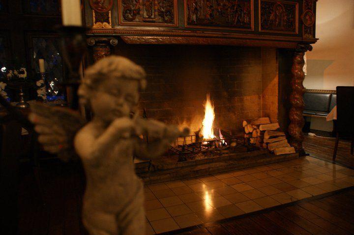 Beispiel: Kamin, Foto: Schlosshotel Friedewald.