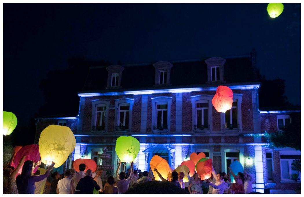 Manoir Le Louis XXI...lanternes célestes