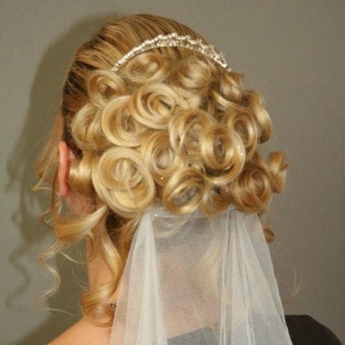 Beispiel: Ihre Hochzeitsfrisur, Foto: Beautypoint.