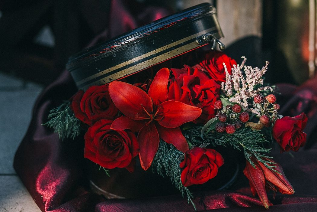 Свадьба Marsala dolce&Gabbana
