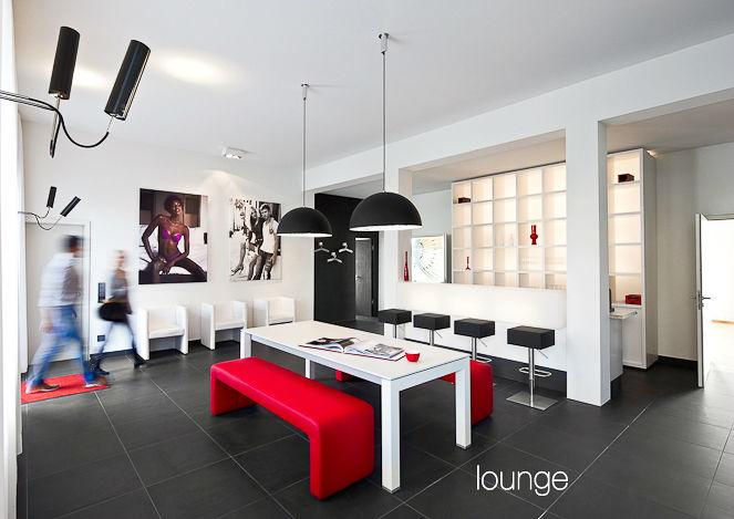 Beispiel: Lounge, Foto: Alba Make Up.
