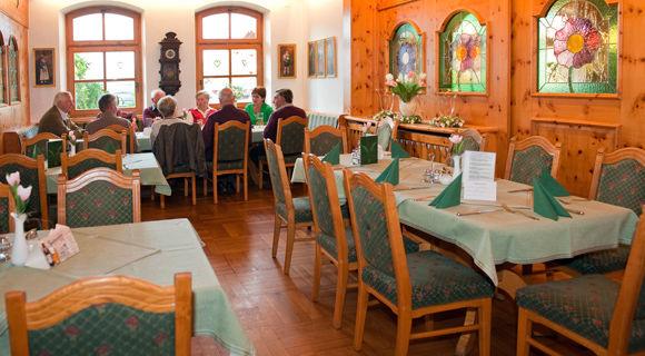 Beispiel: Restaurant, Foto: Weßner Hof.