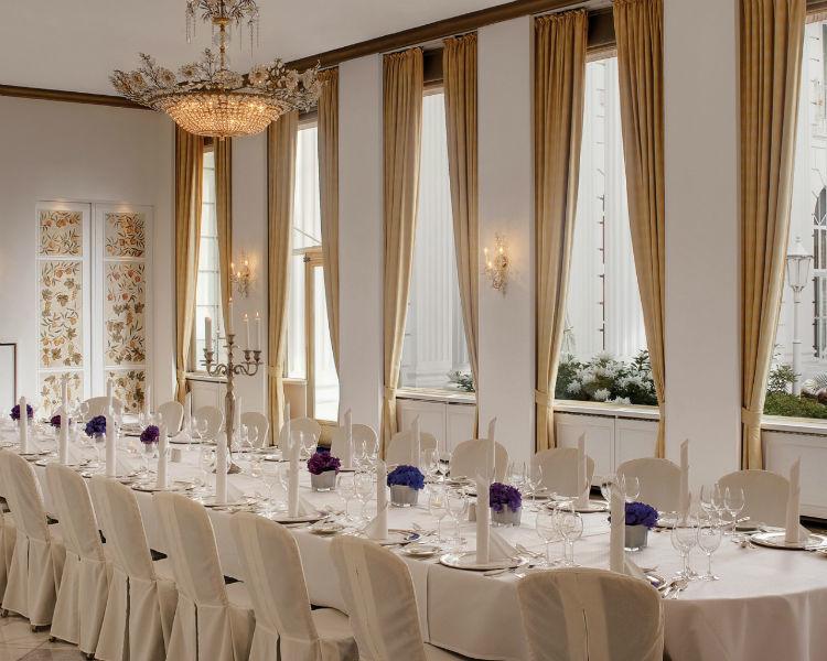 Beispiel: Weier Saal, Foto: Hotel Atlantik Kempinski.