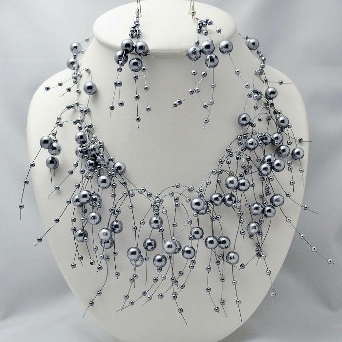 Parure de bijoux Déferlante - Bijoux de Mariage