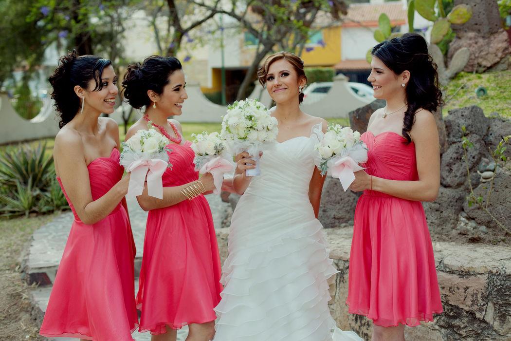 Ramos de novia, en flores exóticas