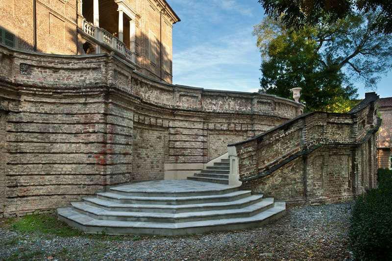 Villa Bria - Scalone dal Parco Basso alla Balconata