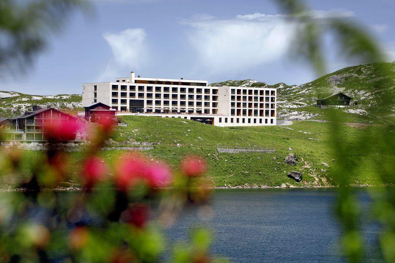 Beispiel: Aussenansicht, Foto: Hotel frutt LODGE & SPA.