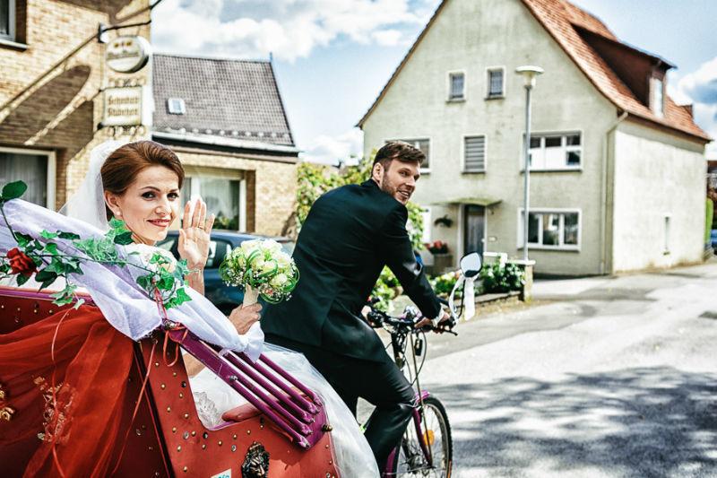 Beispiel: Kreative Hochzeitfotos, Foto: Chris Yeo Photography.