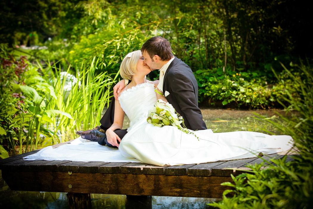 Beispiel: Wunderschöne Hochzeitsfotografie, Foto: Christian Pöltl.