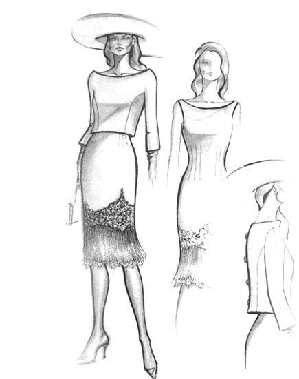 Diseños para madrinas e invitadas