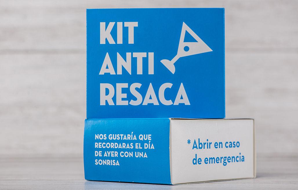 Kit anti resaca