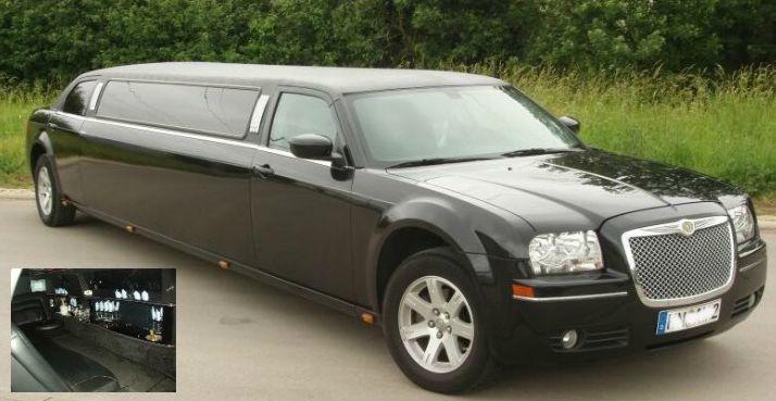 Beispiel: Stretchlimousine zur Hochzeit, Foto: FUN-LIMOS Limousinenservice & Chauffeurdienst.