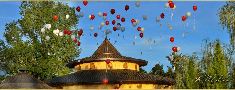 Beispiel: Luftballons, Foto: Molino.