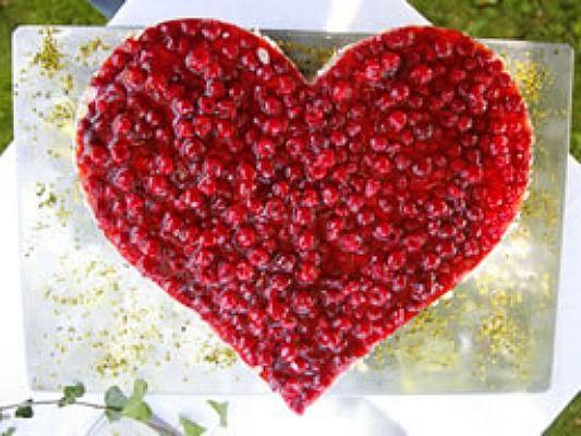 Beispiel: Herzkuchen, Foto: Gelderstadl.