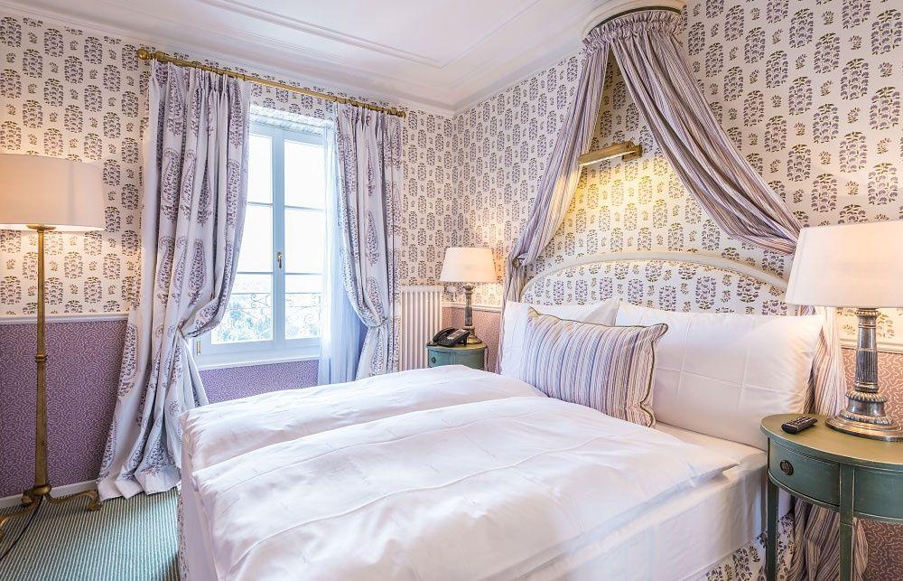 Beispiel: Hotelzimmer, Foto: Château Gütsch.