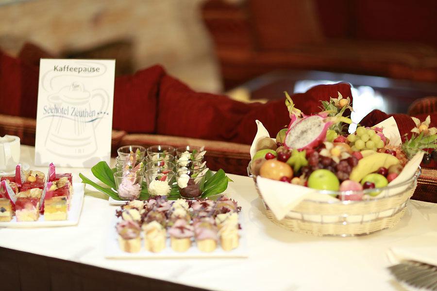 Beispiel: Fingerfood, Foto: Seehotel Zeuthen.
