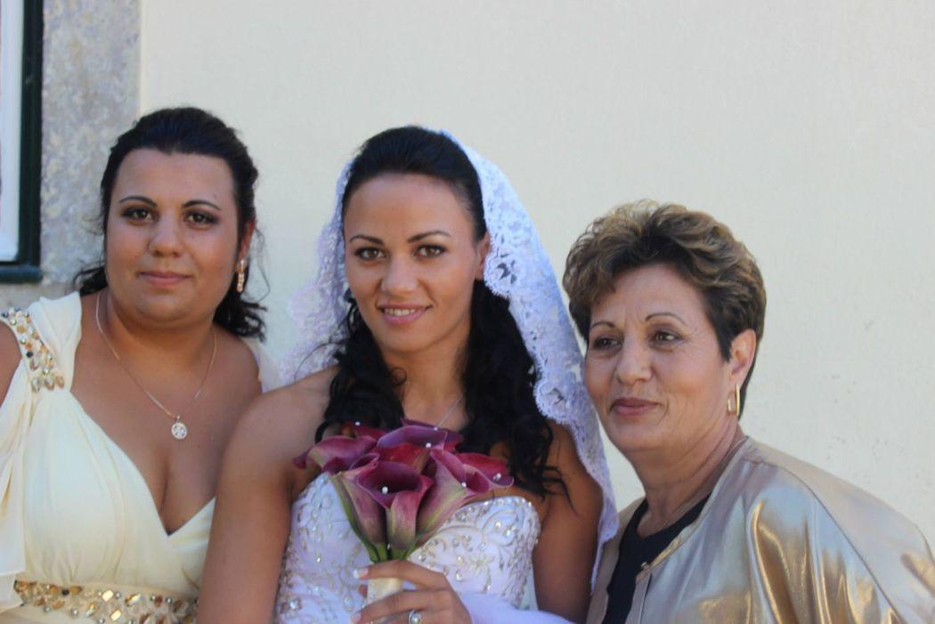 Maquilhagem Noiva, Mãe e Convidada