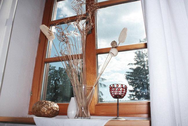 Beispiel: Einrichtung Landhauszimmer, Foto: Landgasthof Berg.