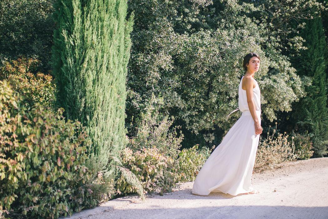 Robe de mariée en soie : Orchis