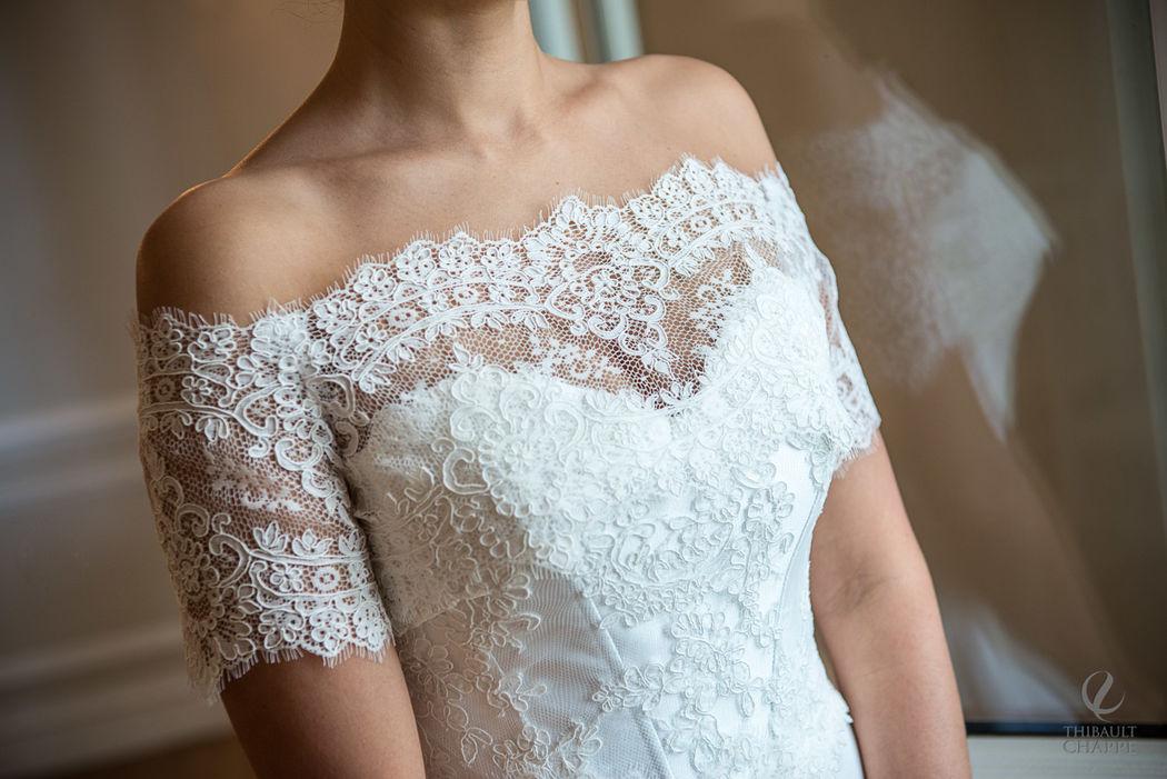 robe LUNE DE MIEL - collection Mariées de Provence 2017