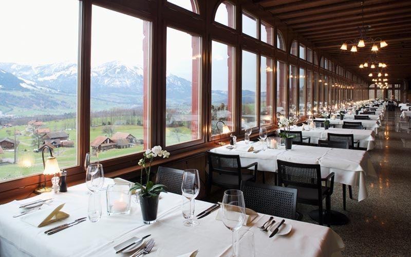 Beispiel: Restaurant mit Aussicht, Foto: Jugendstil-Hotel Paxmontana.