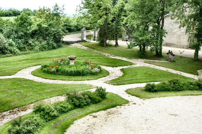 Jardin devant le Château