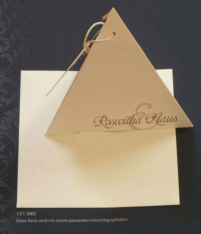 Foto: Hochzeitseinladung von