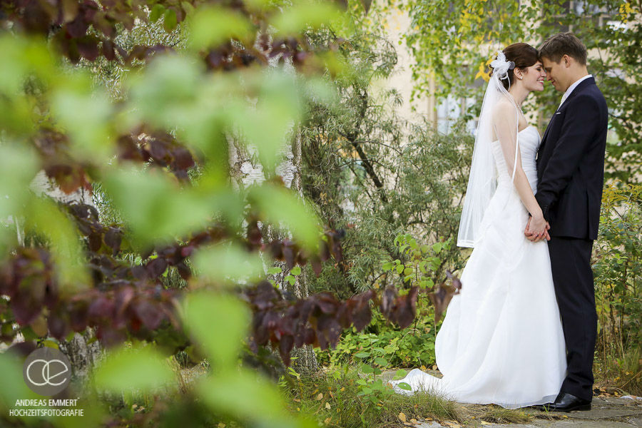 Beispiel: Paarshooting, Foto: Hochzeitsfotografie Andreas Emmert.