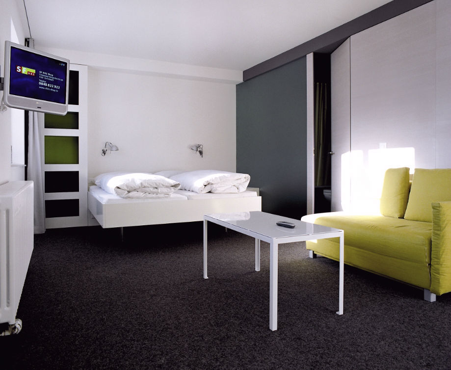 Beispiel: Doppelzimmer, Foto: Hotel Castell.