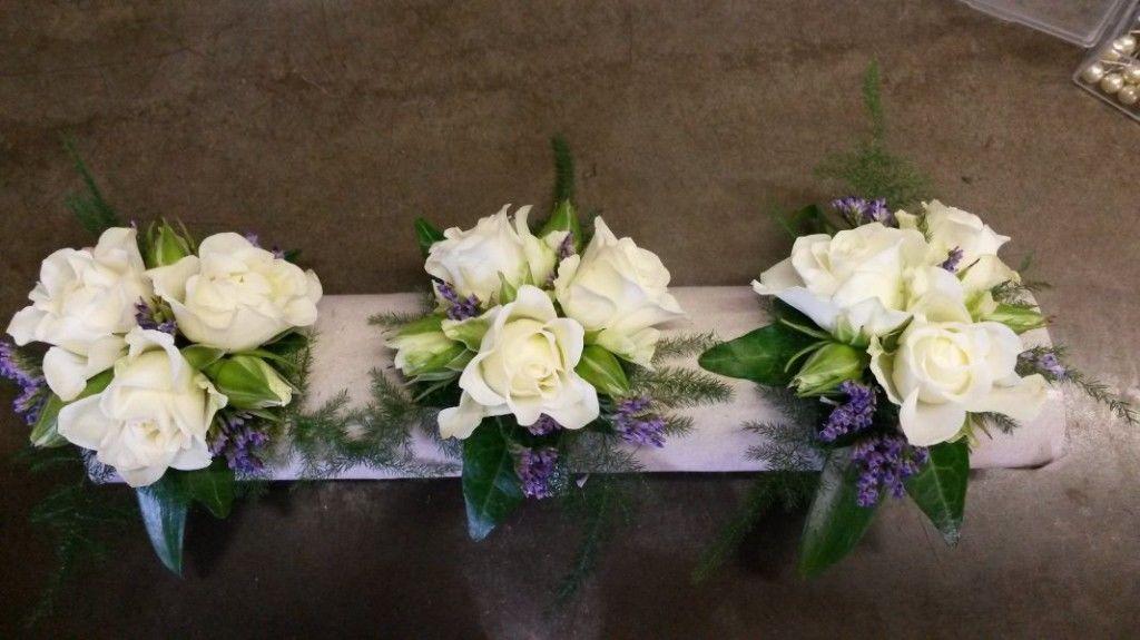 Beispiel: Sträusse für die Brautjungfern, Foto: Toifl Blumen.