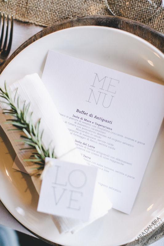 Le Ninette: menù