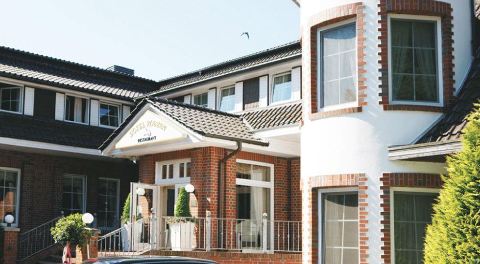 Beispiel: Außenansicht, Foto: Hotel Robben.