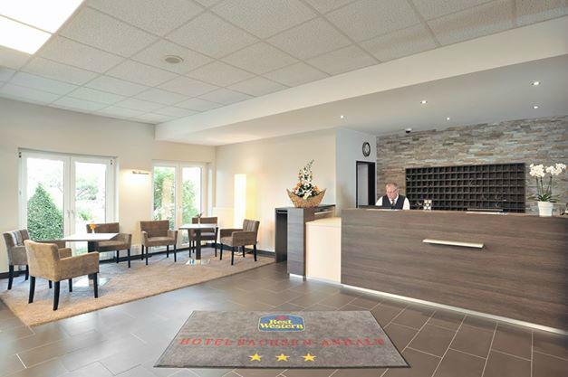 Beispiel: Rezeption, Foto: Best Western hotel Sachsen-Anhalt.
