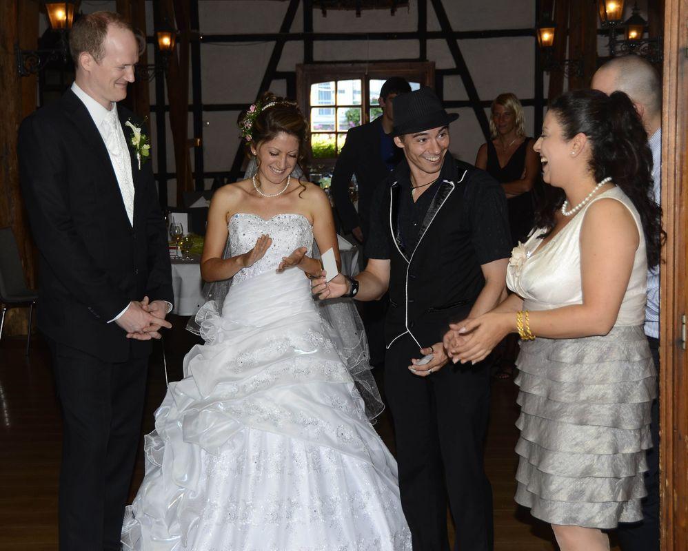 Lockere Atmosphäre und jede Menge Gesprächsstoff auf der Hochzeit