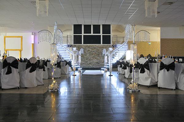 Beispiel: Bankett und Tanzfläche - Saal 1, Foto: Elite Event Center.