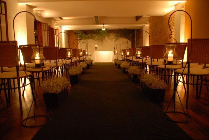 Espaço Festivo Cerimônia no local Salão Inferior