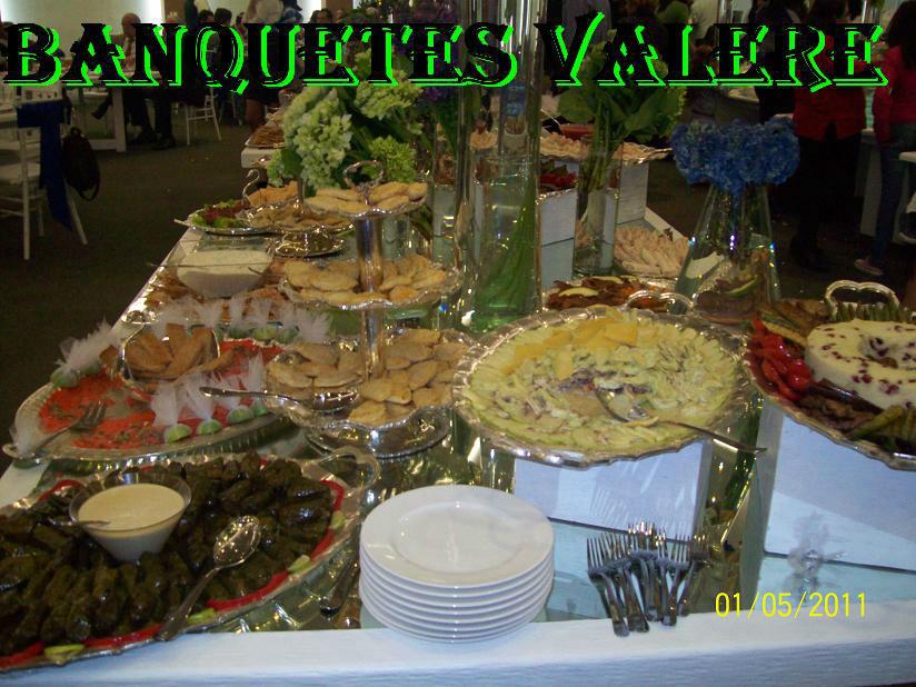 Banquetes a domicilio Valere