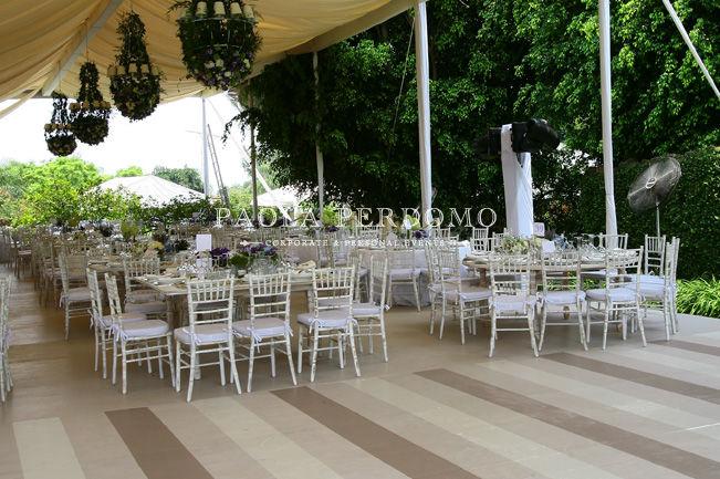 Producción de bodas. Foto: Paola Perdomo
