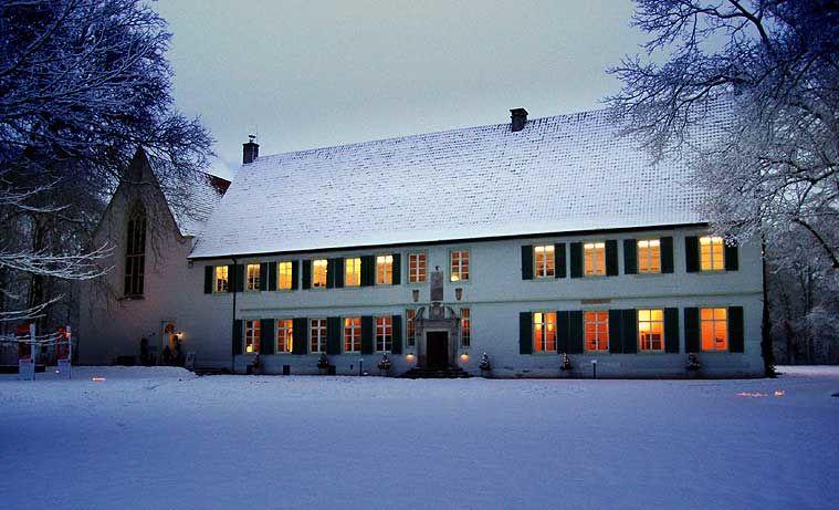 Beispiel: Winterimpression, Foto: Kloster Bentlage.
