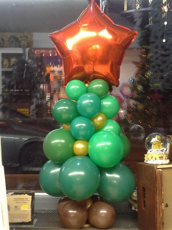 Beispiel: Kunstwerke aus Luftballons, Foto: Paar Deco.