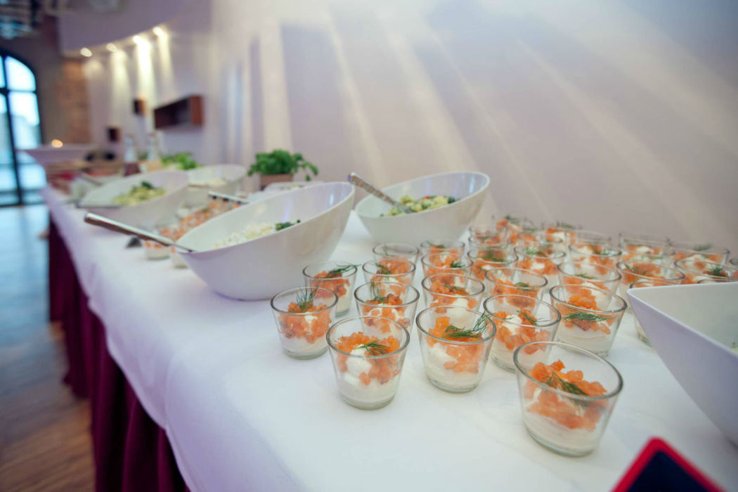 Beispiel: Catering, Foto: 2C SpreeQuartier.
