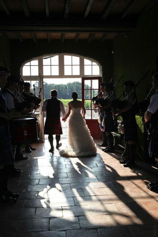 Tendances et traditions, mariage écossais
