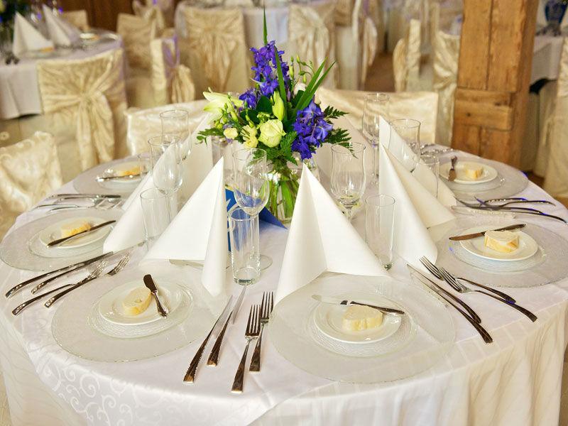 Beispiel: Tischdekoration, Foto: Stadlerhof Wilhering.