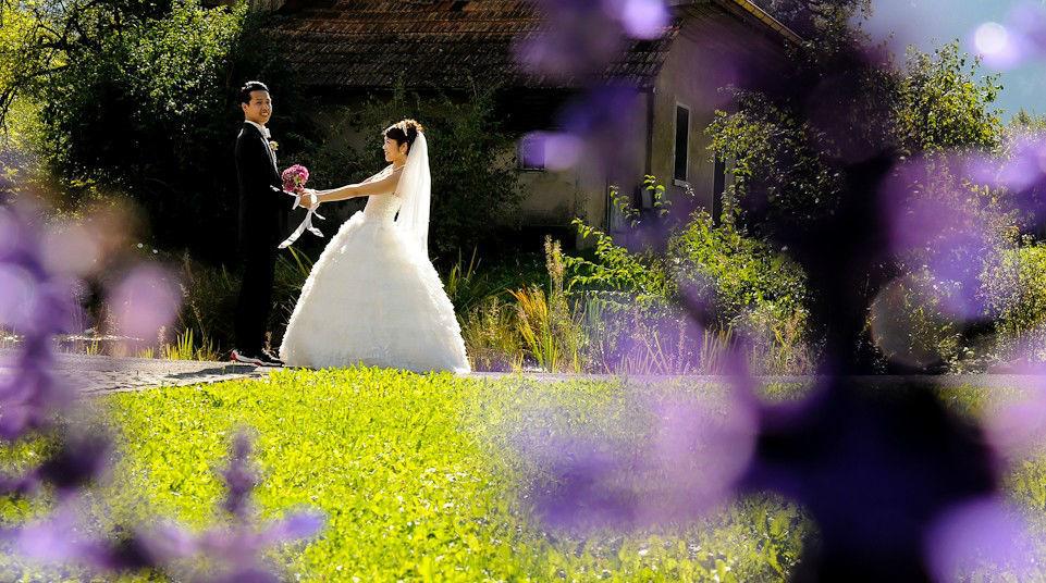 Beispiel: Organisation der Hochzeitsfotografie, Foto: Switzerland Wedding Company.