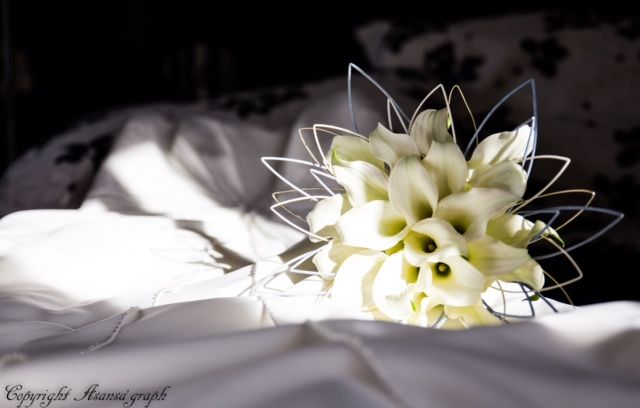 Bouquet de callas/Estelle Leclerc