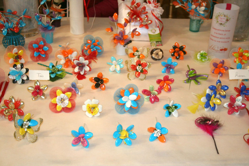 Dragées Fleuries  Présentation salon du mariage