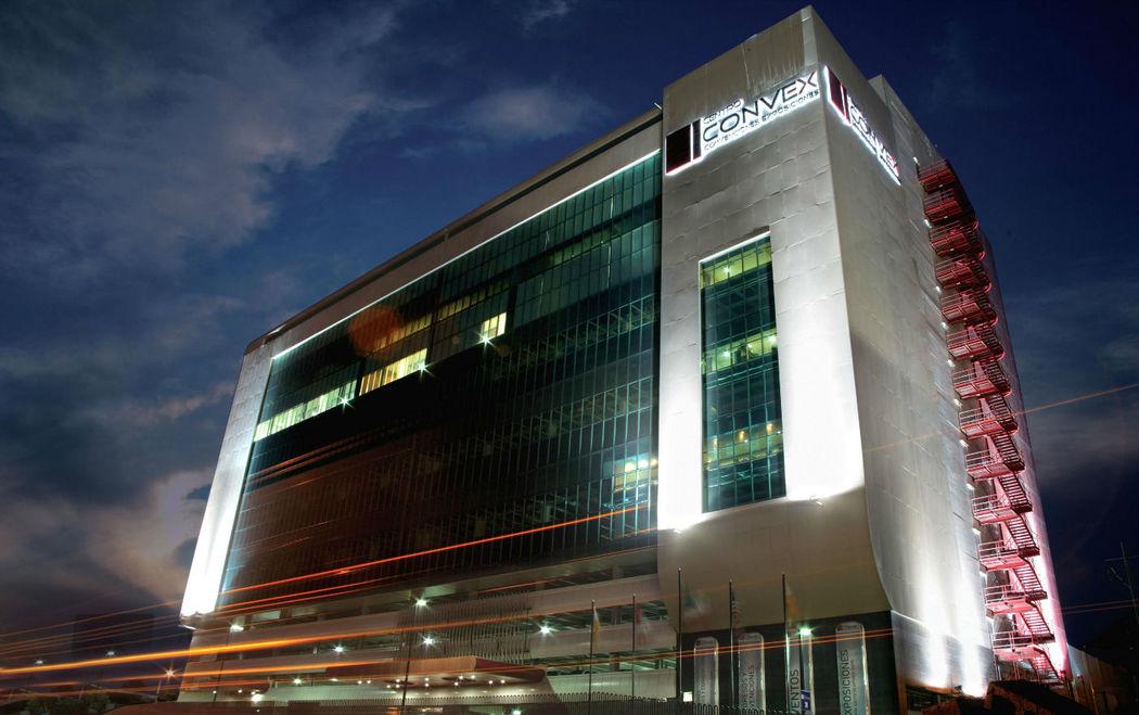 Instalaciones del Centro de convenciones Convex en Monterrey